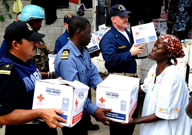 The Red Cross is just one of many organizations that accept Bitcoin charitable contributions.