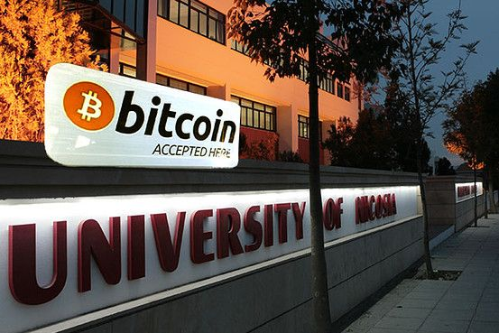 At the University of Nicosia you can even pay your tuition in Bitcoin!