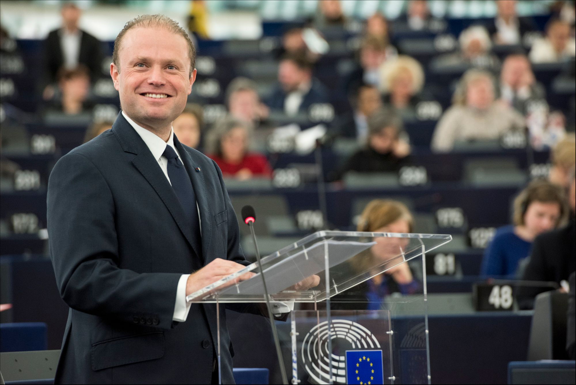 Former Prime Minister of Malta Joseph Muscat was instrumental in making his island nation an early crypto hotspot. By the European Parliament, licensed under CC BY-NC-ND 2.0.